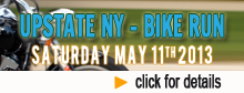 Bike Run 2013 - Upstate NY